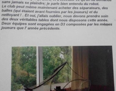 Saison 1991 - 1992 : Achat du premier robot
