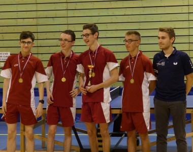 2018 : L'équipe 4 remporte les titres de D3